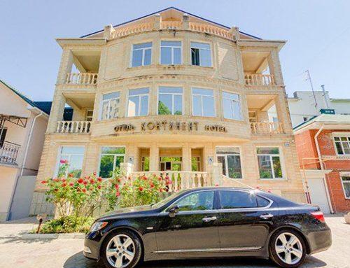 Отель «Континент» бассейн эконом Анапа