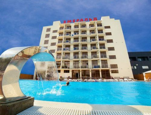 Отель «Эмеральд» 3* все включено Анапа Витязево