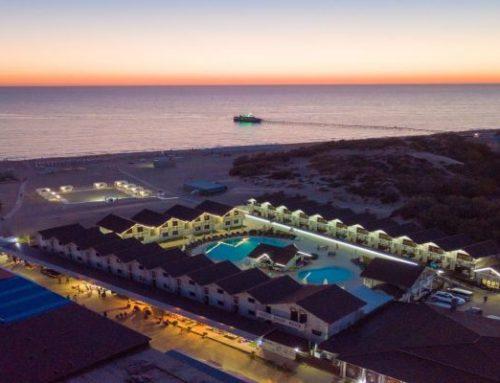 Клуб — отель «Белый пляж» 4* Джемете, Анапа