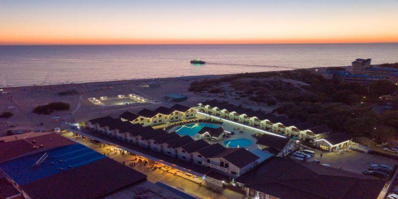 Отель «Белый пляж» Джемете Анапа